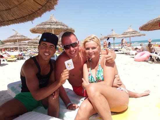 JAZ Tour Khalef Thalasso & Spa: Lukas,Edyta and Chocko