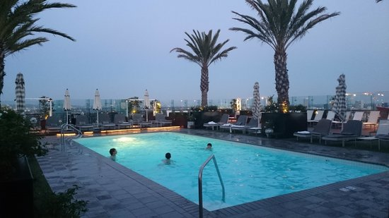 The London West Hollywood: Rooftop Pool