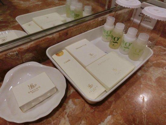 Sejong Hotel: アメニティ