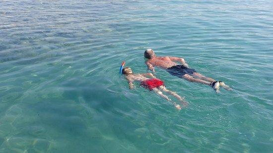 Cleopatra Luxury Resort Makadi Bay: Sea end of Pier