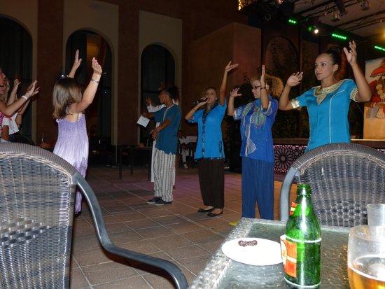 Kenzi Club Agdal Medina : des soirees toujours animées;avec de magnifique spectacles.