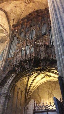 Catedral de Barcelona : Cathedral of Santa Eulalia