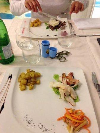 Adriatic Palace Hotel: Ресторан