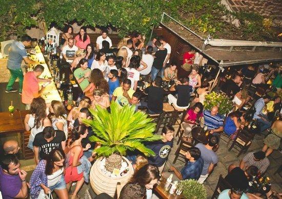 Summer Nights at Enetiko Cafe Cocktail Bar!!!!