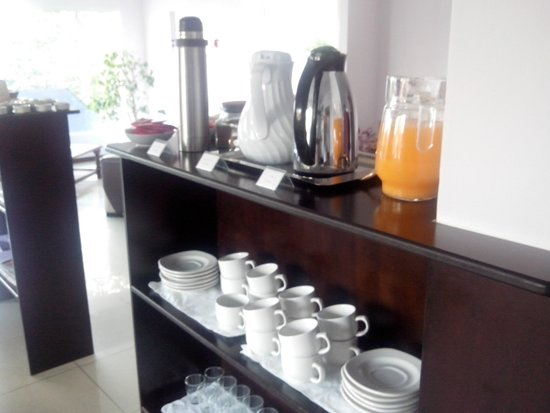 Altuen Hotel Suites&Spa: café da manhã