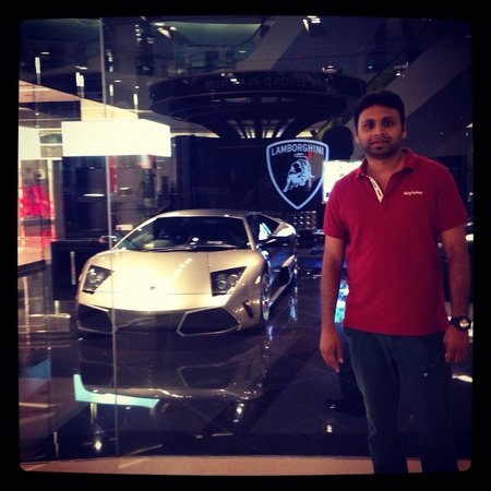 Lamborgini at Siam Paragon