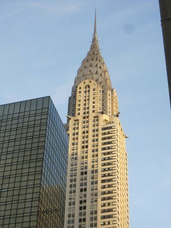 Chrysler Building: Parte superior