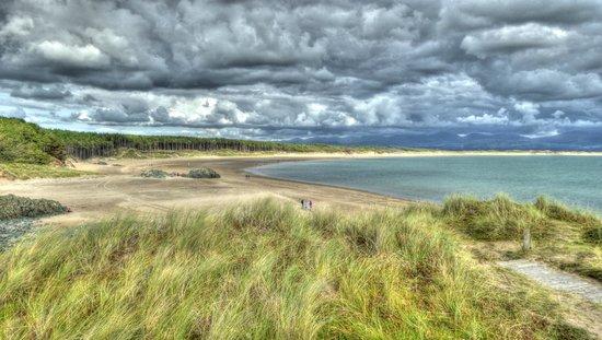 Newborough Warren & Ynys Llanddwyn: Llandwyn Island, Anglesey looking out to Newborough Beach