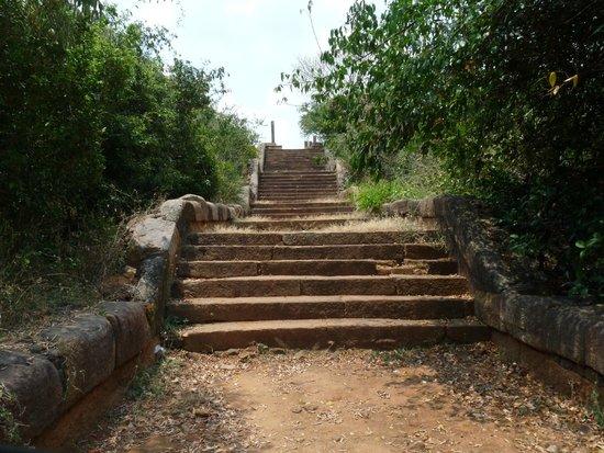 Girihadu Seya: Steps