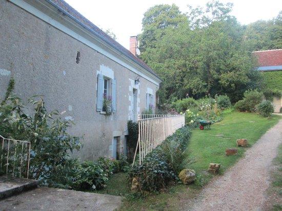 Le Moulin du Mesnil, entrée pour aller déjeuner