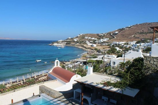 Mykonos Grand Hotel & Resort : view from room
