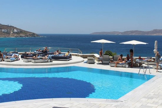 Mykonos Grand Hotel & Resort : Pool