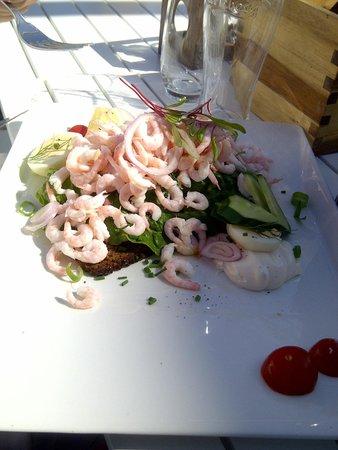 Southern Goteborg Archipelago: Local prawn sandwich