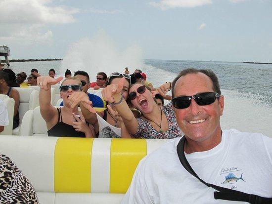 Thriller Miami Speedboat Adventures: Thriller Boat - South Beach