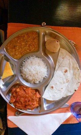 The Dhaba: Chicken tikka masala _ menu pranzo