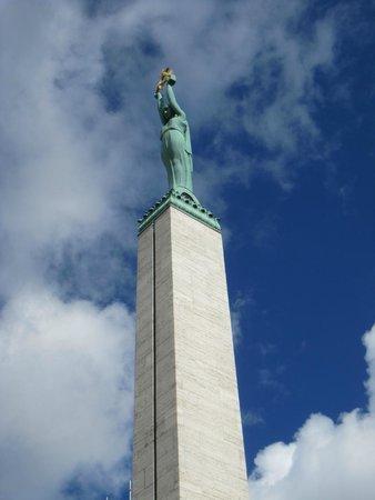 Freedom Monument (Brivibas Piemineklis) : Vista del monumento