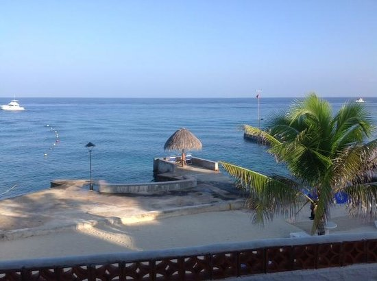 Scuba Club Cozumel: View from Rm #73