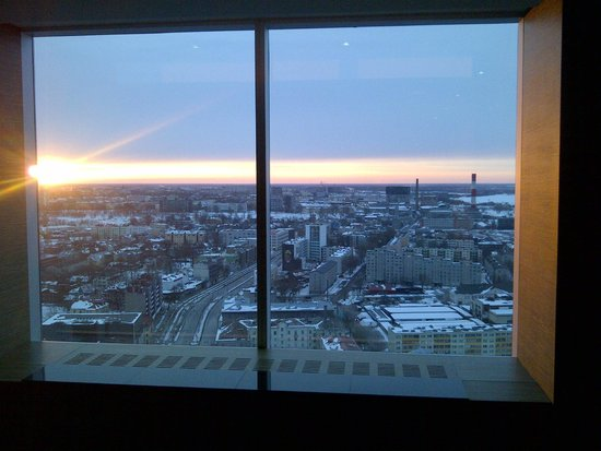 Swissotel Tallinn: Evening view