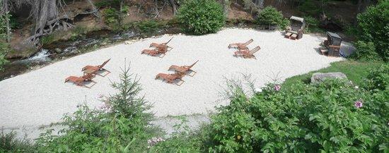 Landgasthof Zum Tierpark: Unser Strand