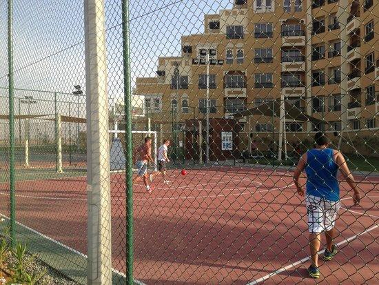 Rixos Bab Al Bahr : мини футбол
