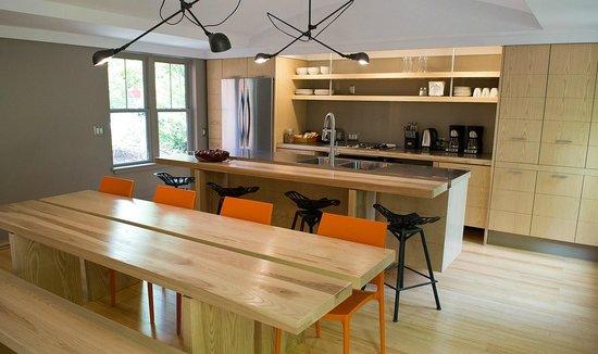 Inn on Columbia: dining, kitchen