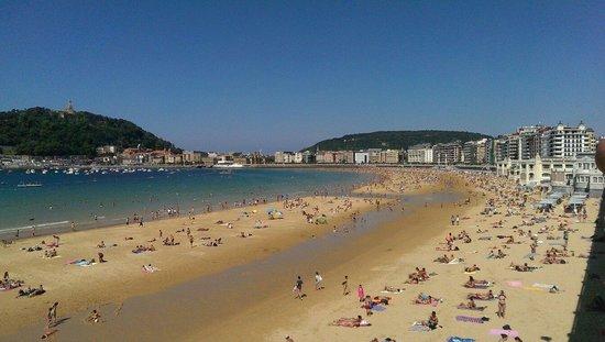 Playa de La Concha: Baia Donastia