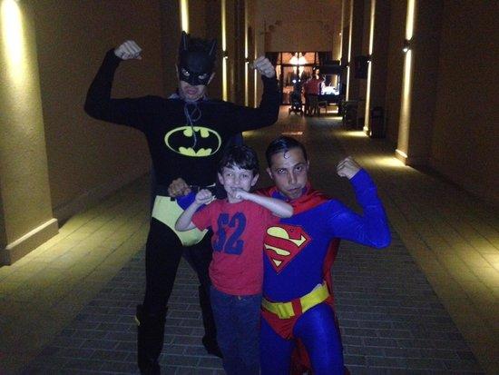 Rixos Bab Al Bahr : супергерои
