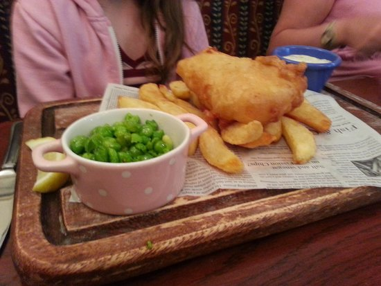 The Swan: Fish and chips