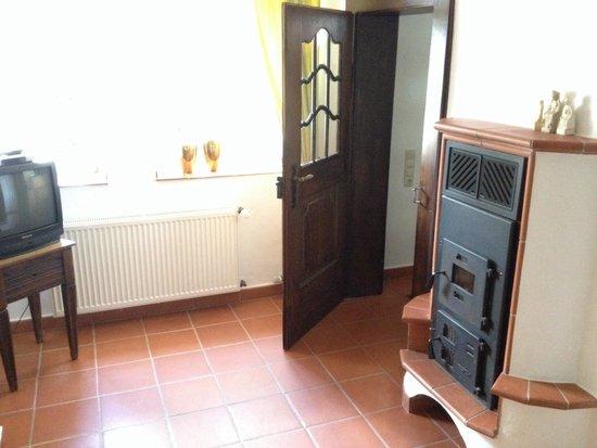 Pomster, Deutschland: Wohnbereich im Erdgeschoss