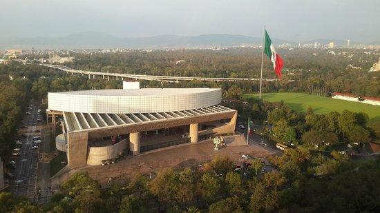 InterContinental Presidente Mexico City: vista desde la habitacion hacia reforma y chapultepec