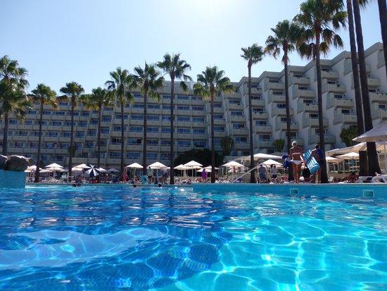 Hipotels Mediterraneo: Vista desde la piscina