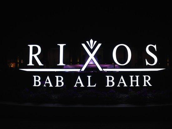 Rixos Bab Al Bahr : Rixos