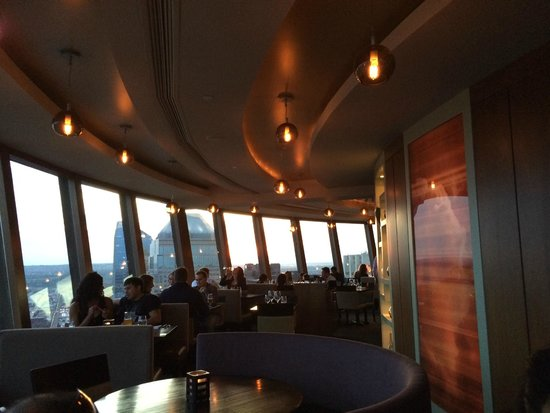 Sunset From The Restaurant Picture Of Sky 360 Calgary