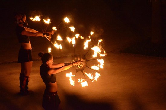 Excellence Playa Mujeres: Fire Show