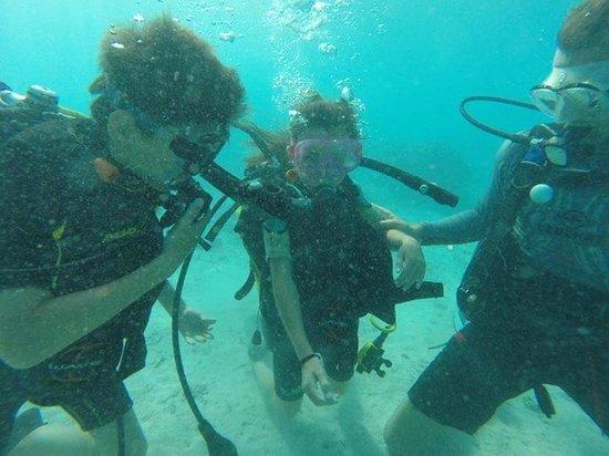 Eleuthera Bora Diving Center: Baptême