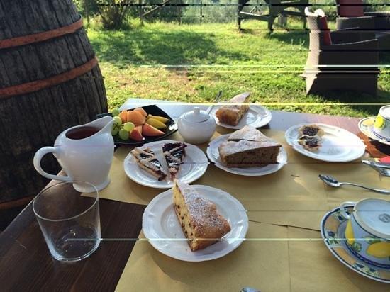 Casale Mariandre: breakfast