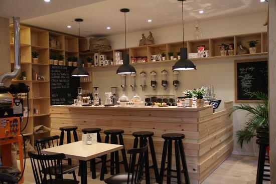 Interieur foto van caffe mundi antwerpen tripadvisor for Interieur antwerpen