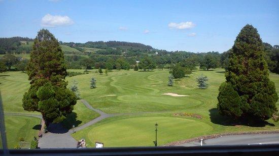 Faithlegg House Hotel & Golf Resort: view from our room.