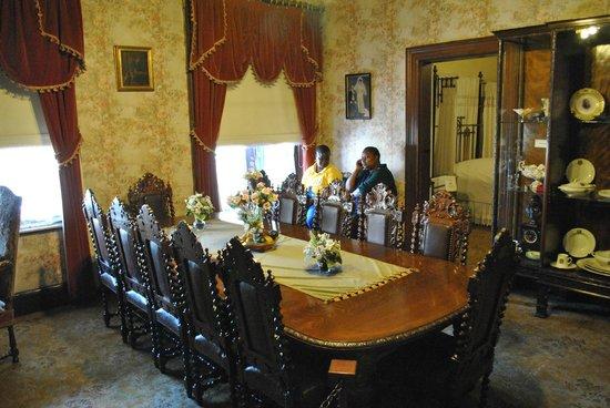 President Paul Kruger House: de presidentiële eetkamer