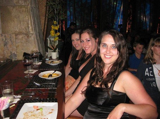 Emeril's Tchoup Chop: The girls loved their meals!