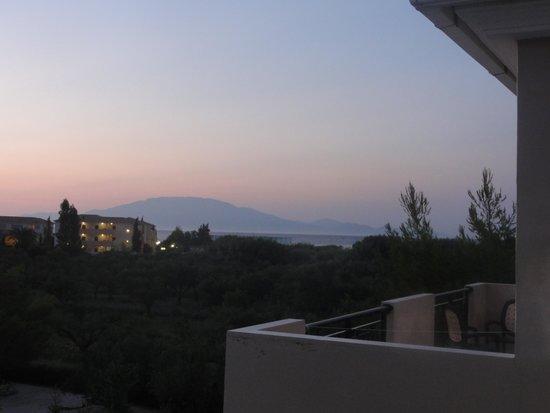Hotel Letsos: vue de notre balcon