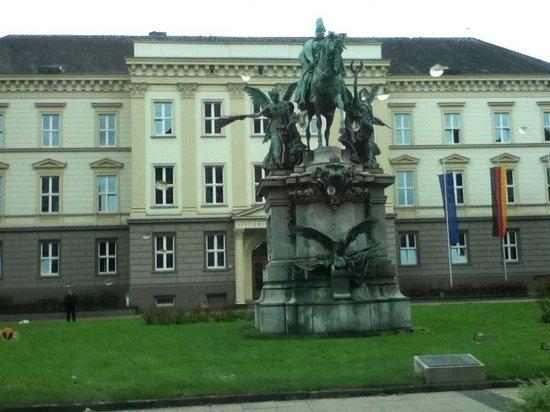 Burgplatz : germany, düsseldorf