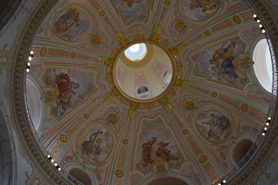 Frauenkirche: Roof from inside