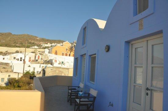 Ambelia Traditional Villas: vue de la chambre