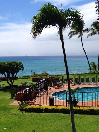 Polynesian Shores : View from the lanai!