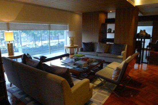 Les Suites Orient, Bund Shanghai: 舒適的公共區域