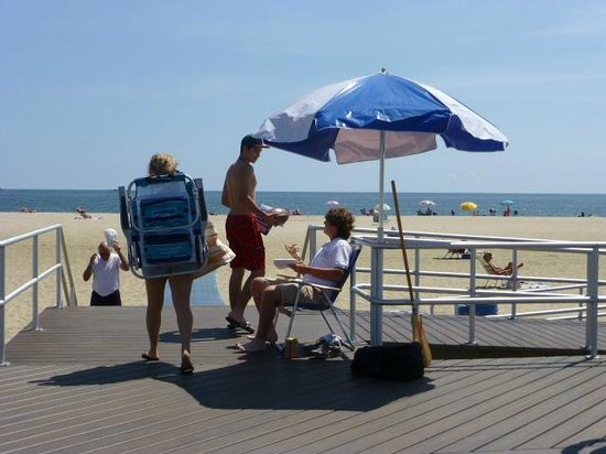 Belmar Beach and Boardwalk: have your beach pass