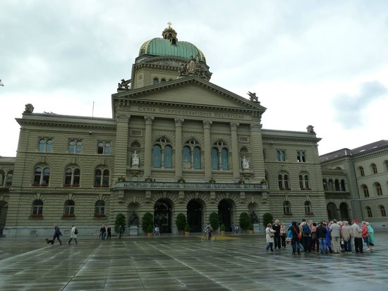 Old Town Bern : One of the many interesting buildings in Bern