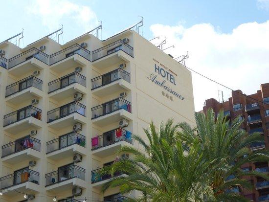 Hotel Ambassador Playa: the hotel side building