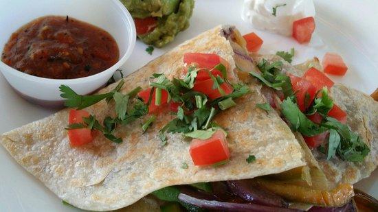 Blue Gecko Cantina: Vegetarian Burrito #BX